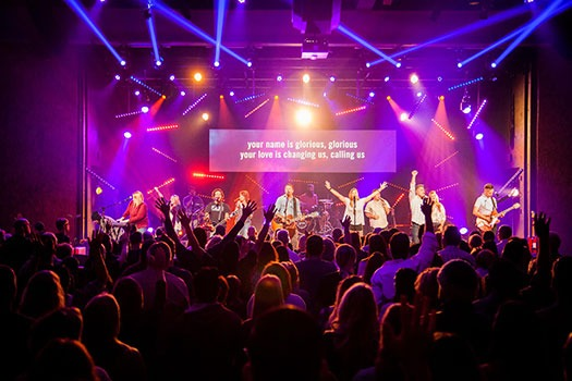 Cci Solutions Added Flexibility To Sandals Church Lighting