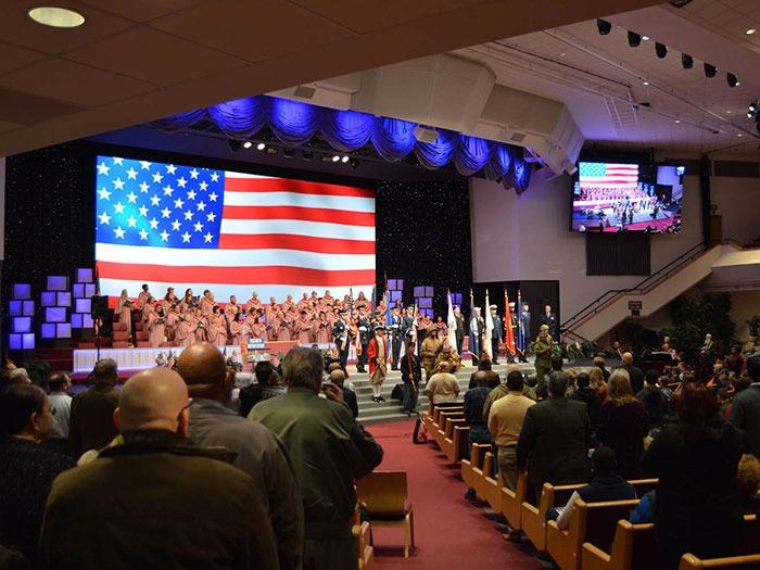 Danley Speakers Upgrade Anchorage Baptist Temple Mondodr - Abt speakers