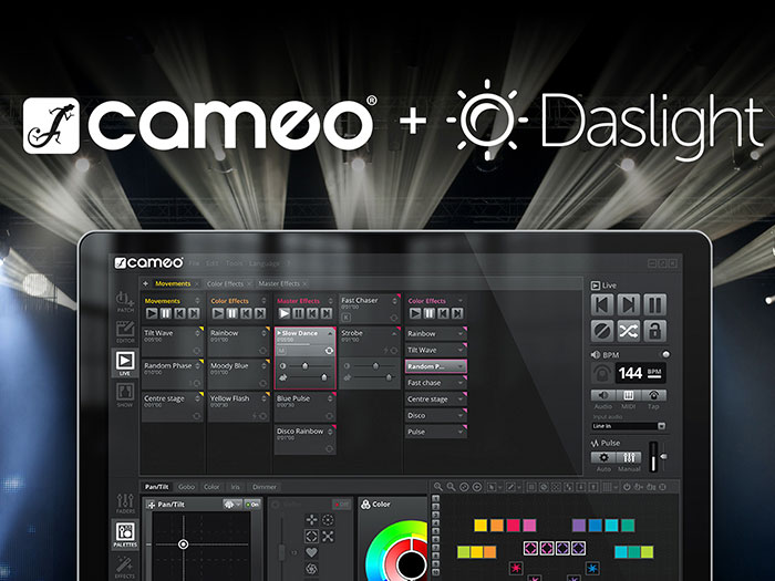 Adam Hall Group Expands Cameo Light Solutions With Professional