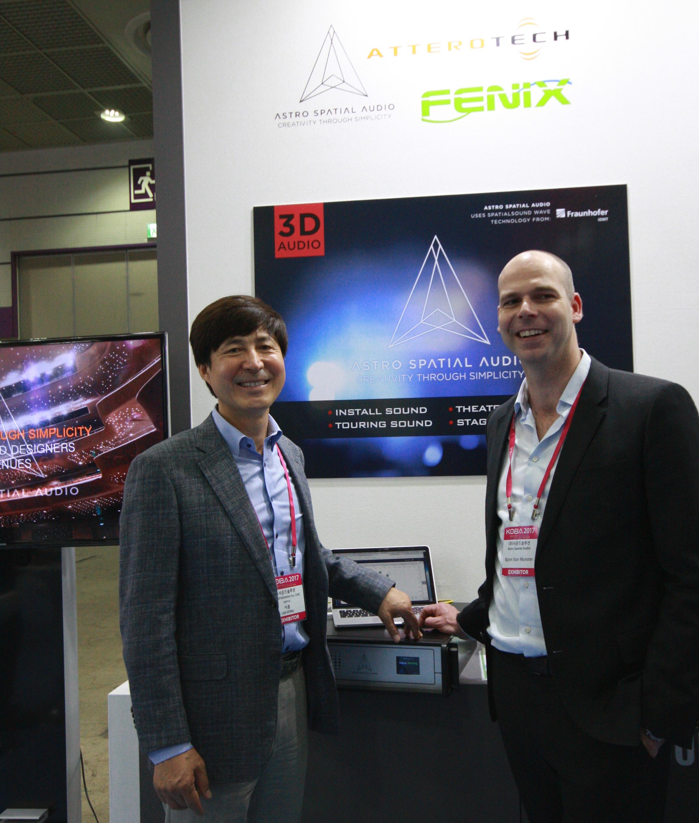 Astro Spatial Audio Appoints Sound Solution in Korea - mondo*dr