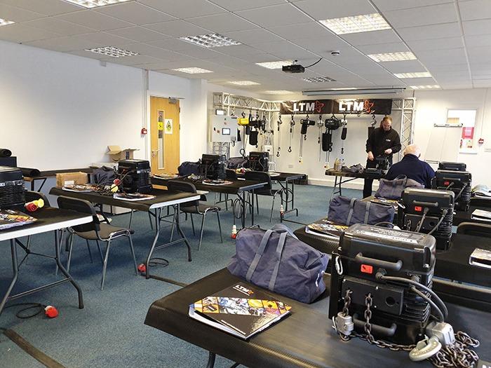 LTM Opens New Hoist Training Room - mondo*dr