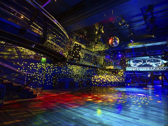 Claypaky fixtures light up Cerebro Nightclub